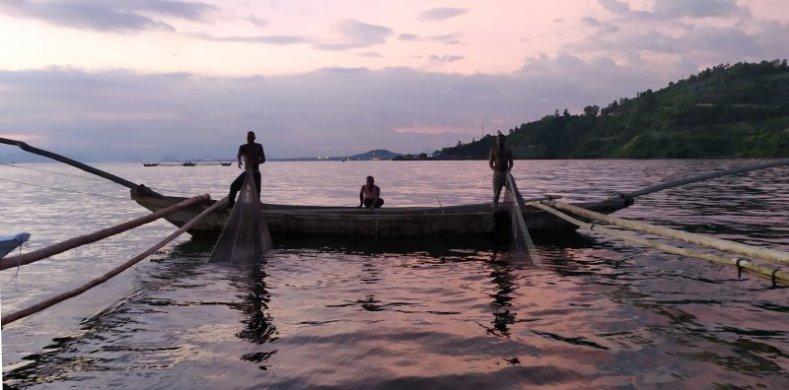 pêche lac kivu